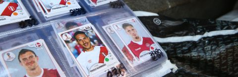 World Cup spurs soccer trading card frenzy in Peru