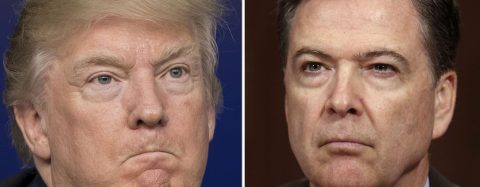Trump accuses former FBI boss Comey of breaking law