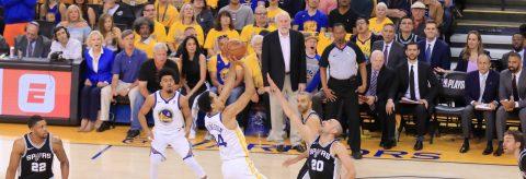 113-92. Warriors abren los playoffs de la primera ronda con triunfo ante los Spurs