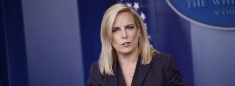 Nielsen defiende política de separar a niños y padres inmigrantes en frontera