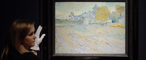 Van Gogh painting owned by Elizabeth Taylor sells for $40M in New York