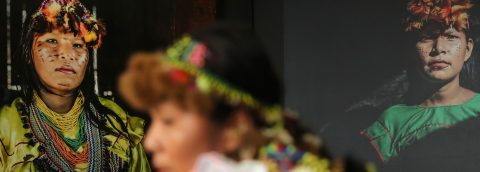 Color and magic of Shawi women on display at Lima photo exposition