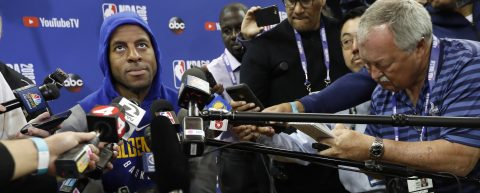 Andre Iguodala ruled out for NBA Finals Game 1 due to knee injury