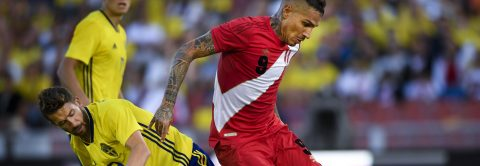 Peru soccer squad arrives in Russia to play in its 1st World Cup in 36 years