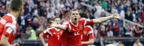 RUSIA 2018 – 5-0. Golovin y Cheryshev devuelven la ilusión a Rusia