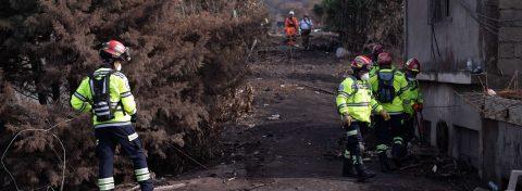 Desciende un lahar por el volcán de Fuego de Guatemala debido a las lluvias