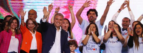 I will unite the country, Colombia's new president says