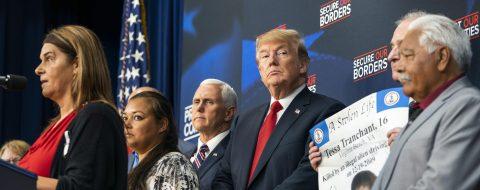 Trump retoma su línea dura en inmigración tras frenar la separación familiar