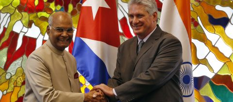 India invites Cuba to lead the way in empowering developing countries