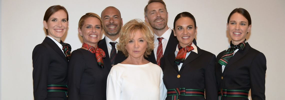 Passion for Fashion in the Air – Alitalia Partners with Alberta Ferretti on New Uniforms