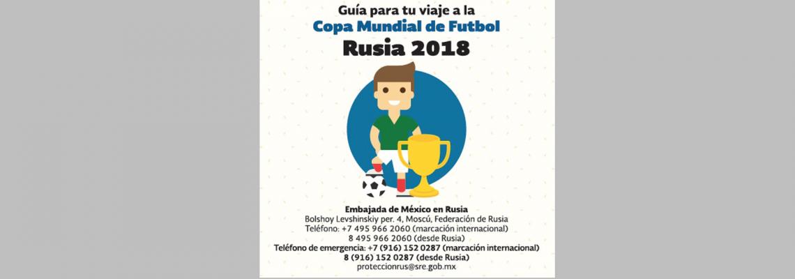 Consulado a tu lado: Copa Mundial FÚTBOL
