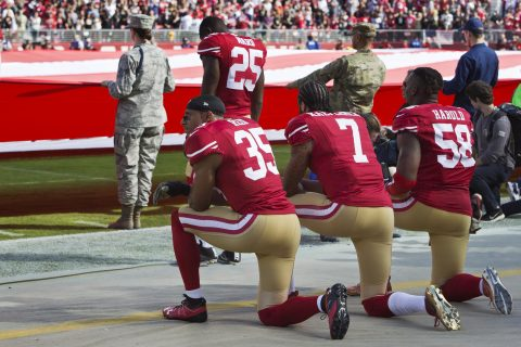 The Political Price of Kneeling