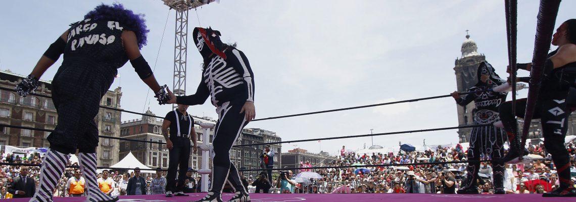 Declaran a la Lucha Libre Mexicana como patrimonio cultural de Ciudad de México