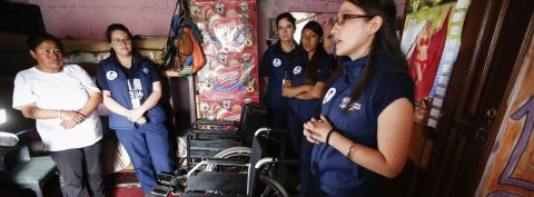 Ecuador a pioneer in outreach to the disabled