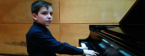 Mexico's brilliant pre-teen pianist feels the passion of every note he plays