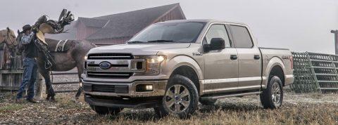Los números asombrosos de la serie F de Ford