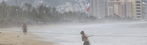 Storms Ileana and John to bring heavy rain across much of Mexico