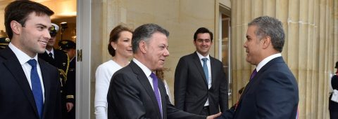 Ivan Duque sworn in as Colombia's president