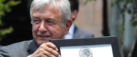 Lopez Obrador certified as Mexico's president-elect