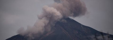 Guatemala's Fuego volcano fires up with strong explosion, avalanches