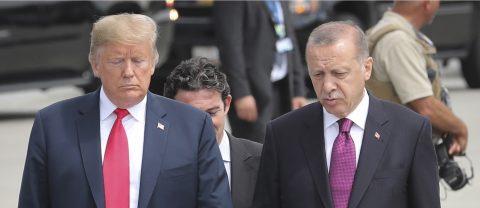 Erdogan warns US risks losing Turkey as strategic partner