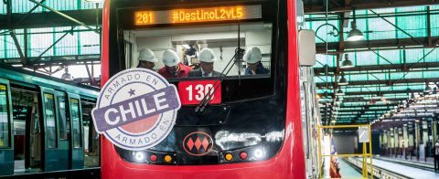 Santiago Metro takes delivery of 1st Chilean-made trains