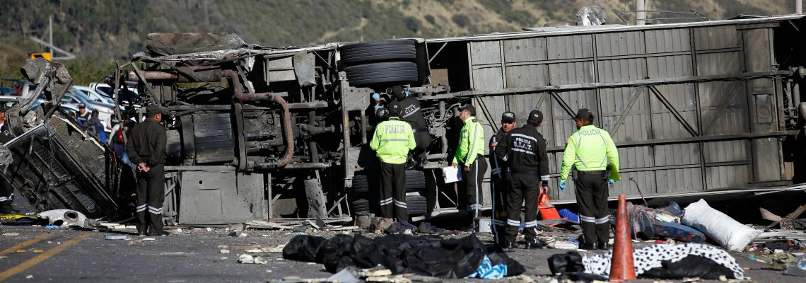 24 Killed in Ecuador bus crash
