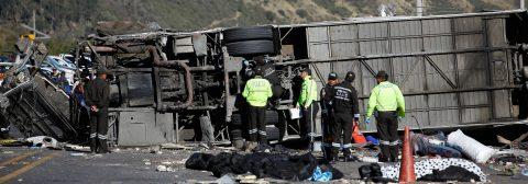 24 Killed in Ecuador bus crash