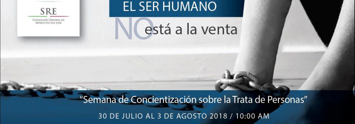 Consulado a tu lado: Juntos contra la Trata de Personas