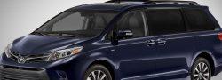 Toyota Sienna: Excelente para una excursión familiar