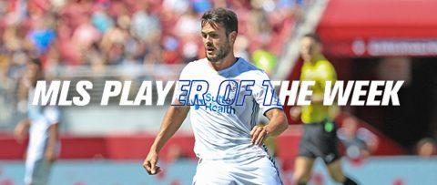 Vako es nombrado Jugador de la Semana de la MLS