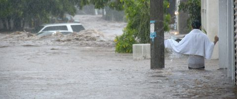 Torrential rains leave one person dead in western Mexico