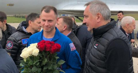 NASA's Hague thanks rescuers, supporters after Soyuz incident