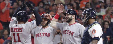 1-4. Los Medias Rojas eliminan a los Astros y jugarán la Serie Mundial