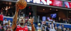 Raptors beat Wizards 113-117, Lowry achieves double double