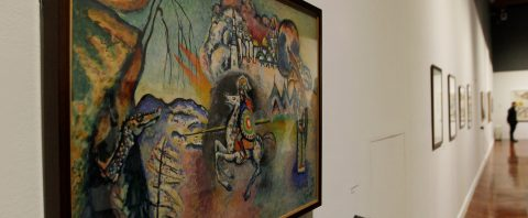 Kandinsky's abstract forms, colors exhibited in Mexico for first time