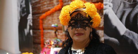 La embajada de México en Uruguay celebra el Día de los Muertos con poemas