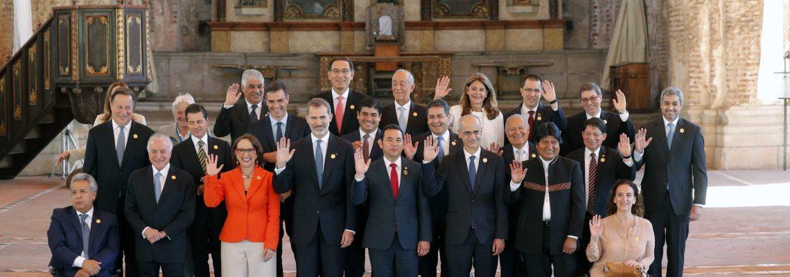 Ibero-American heads of state begin summit in Guatemala amid migrant crisis