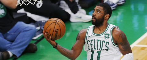Irving apologizes for cursing Thanksgiving
