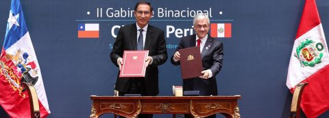 Presidents of Chile, Peru confirm good bilateral relations