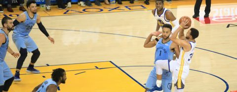 117-101. Warriors siguen imparables y anotan su 10mo. triunfo ante los Grizzlies
