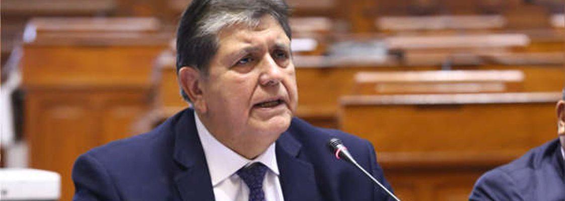 Peru's ex-President Garcia requests asylum in Uruguay