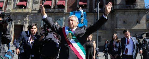Lopez Obrador sworn in as Mexico's president