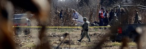 Mexican leader vows transparency in probe of helicopter crash