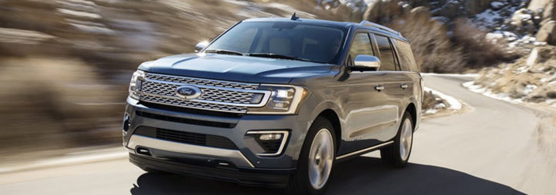The new 2018 Ford Expedition 4×4