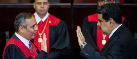 Maduro inaugurated for 2nd term as Venezuela's president