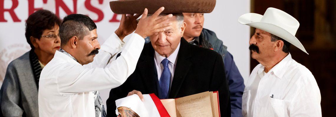 Lopez Obrador announces new aid program for the disabled