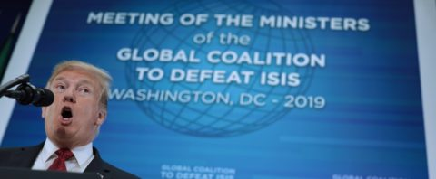 Trump: ISIS-held territory may be fully liberated next week