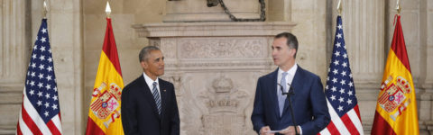 President Obama and Spanish King Felipe VI affirm strong bilateral relations
