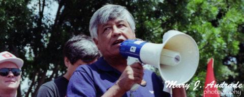 Boicot frente a Safeway en San José California – César Chávez 1991